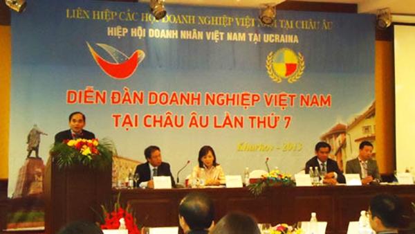 Diễn đàn doanh nghiệp Việt Nam tại Châu Âu