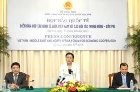Diễn đàn hợp tác kinh tế VN và Trung Đông-Bắc Phi