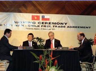 Hàng hoá Việt Nam xuất khẩu sang Chile được hưởng ưu đãi thuế quan